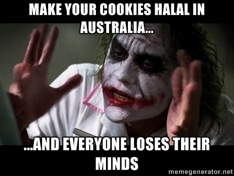 Make your Cookies Halal in Australia and Everyone Loses Their Minds